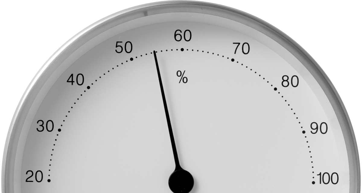 Image of Hygrometer to improve screen printing