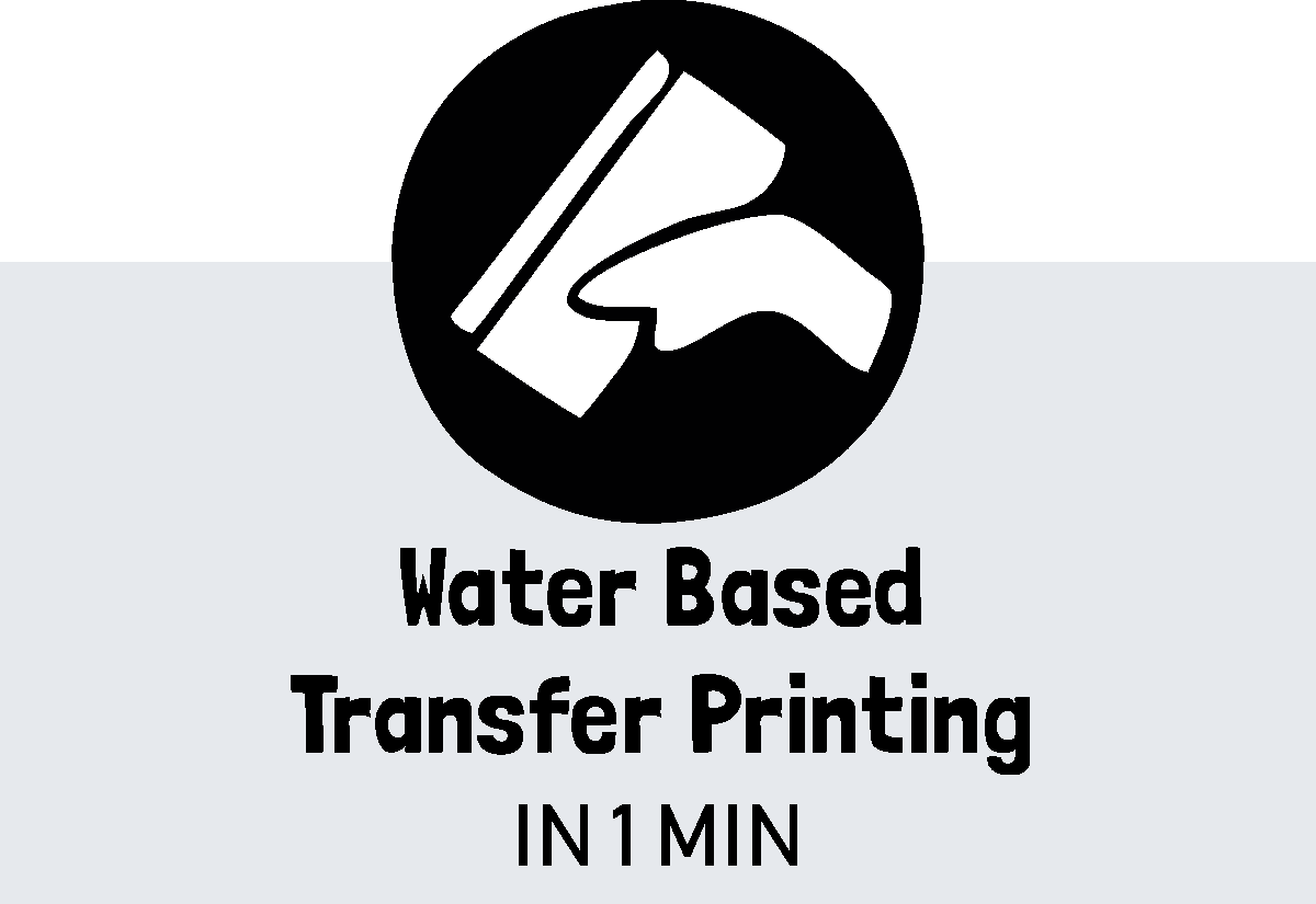 Water Based Tansfer Screen Printing Video Title