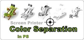 Color Separation for Screen Printer