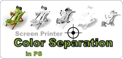 Color Separation for Screen Printer