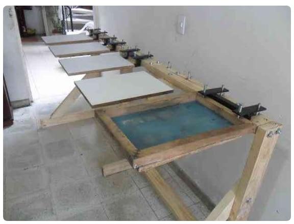 Line table setup wood