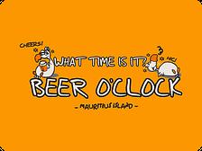T=Shirts Chilliisland Design -beer o clock