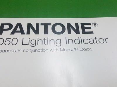Pantone D50 Lightning Indicator