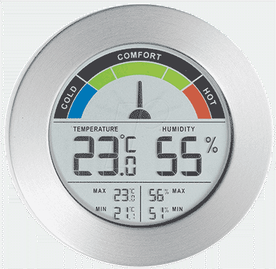 Digital Thermometer & Hygrometer Image