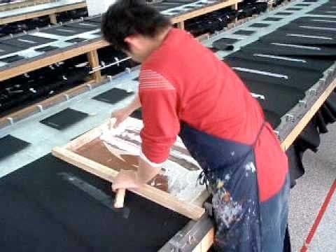 Line Table Screen Printing