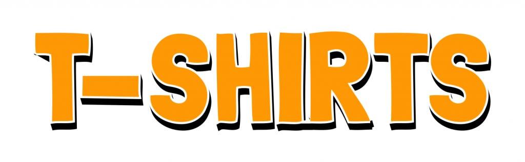 T-Shirt letters big